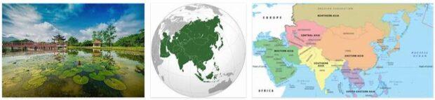 Regions in Asia